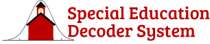 Special Education Decoder System Sticky Logo